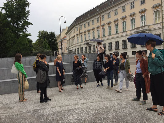 SALOON field trip with the director of KÖR - Art in the public space