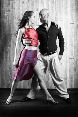 Tango. Getanzte Leidenschaft.Tango Fotoshooting. Studioshooting.