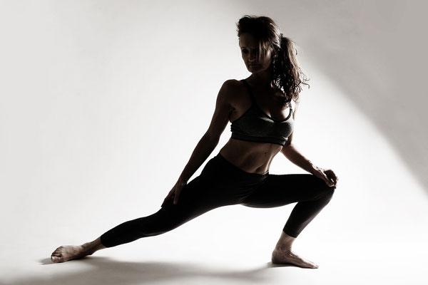 Fotoshooting in Ladybalance Leipzig. Shooting im Fitness-Studio. Yoga Shooting.
