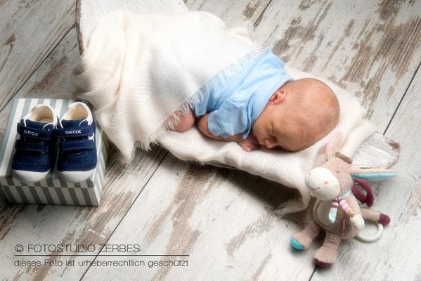 Newborn Fotoshooting Fotostudio Köln