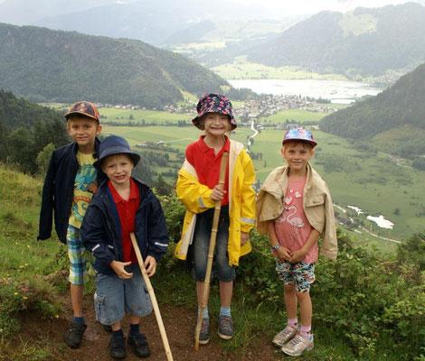 Familienwanderung zur Hitscheralm - ideal auch für Kinder