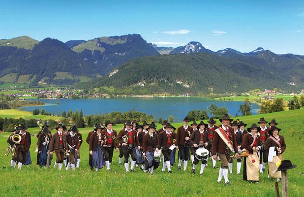 Unsere Bundesmusikkapelle Walchsee