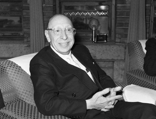 イーゴリ・ストラヴィンスキー(1882ー1971)