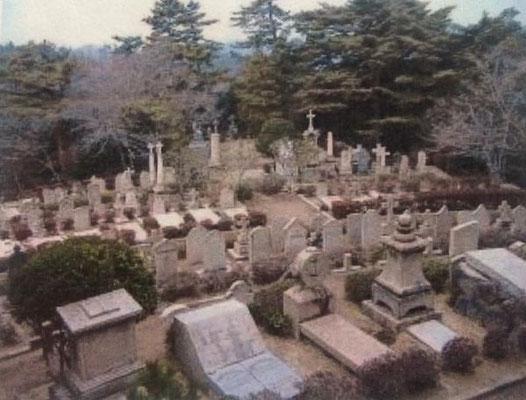 神戸ロシア人墓地