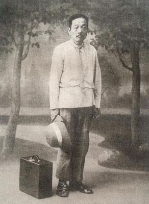 ルバーシカを着用した福田精斎(1938年)