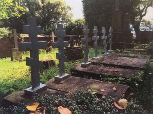 ロシア人墓地・長崎市