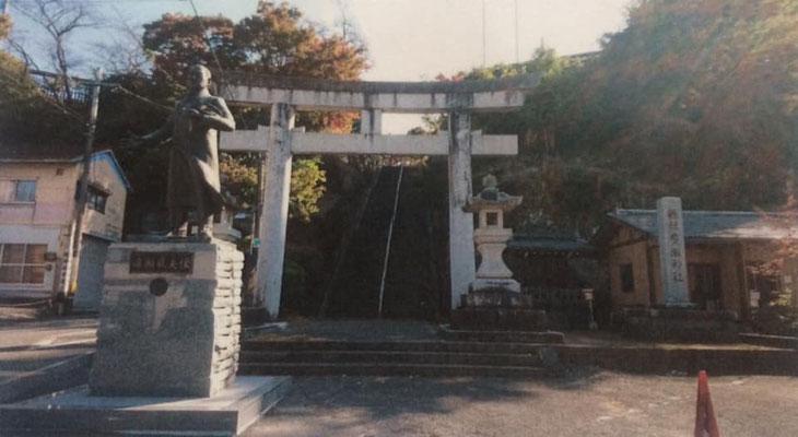 広瀬神社と広瀬武夫銅像