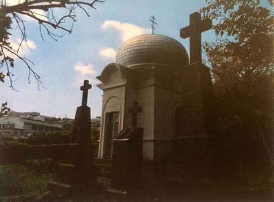 悟真寺境内のロシア正教の礼拝所