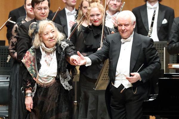 シーモノフ指揮モスクワフィル交響楽団とフジコ・ヘミング