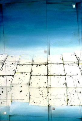 Waters Edge (left) 452×660㎜ ミクストメディア 2009年
