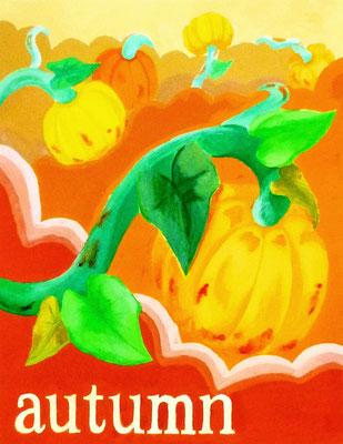 色彩構成(Autumn)