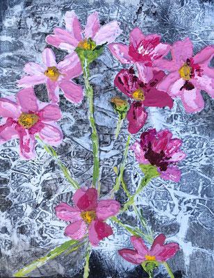 Bloemen abstraherend