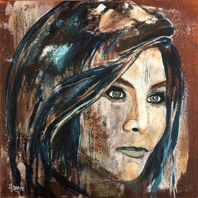 Portret in de stijl van Christiaan Lieverse