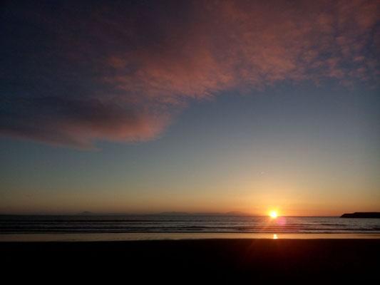 Sonnenaufgang über dem Eyjafjallajökull!