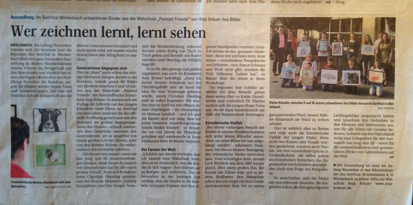 Ein toller Pressebericht in der Odenwälder Zeitung!