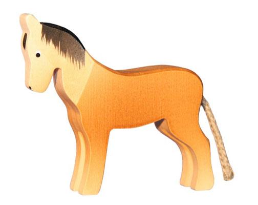 Pferde in verschiedenen Ausführungen
