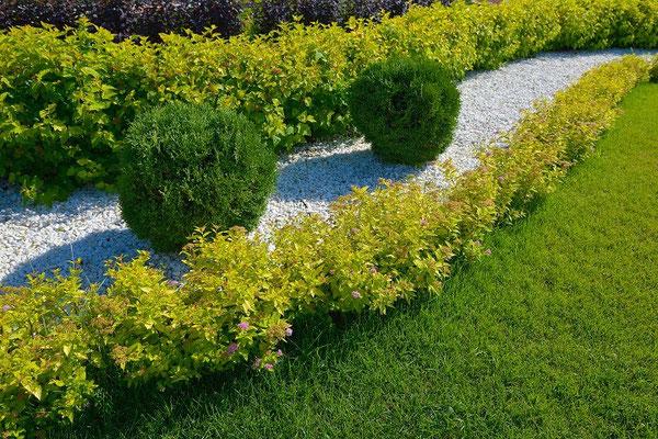 Dieser Garten sticht durch seine Bescheidenheit hervor