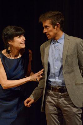 Valérie Lobsiger  et Yari Maltese
