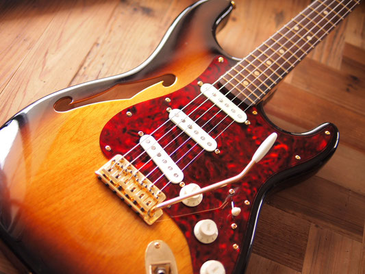 Warmoth - Stratocaster Thinline 3TS
