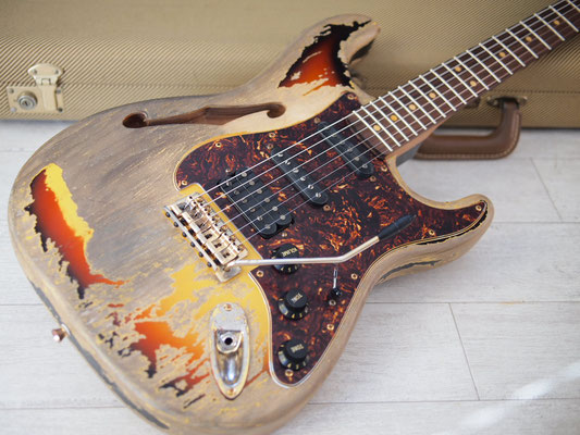 """Warmoth - Stratocaster Thinline """"Rory-F"""""""