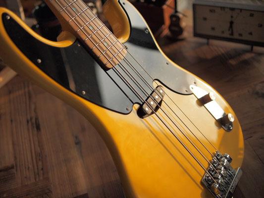 MJT + Warmoth - Original Precision Bass - Butterscotch Blond - Closet Condition