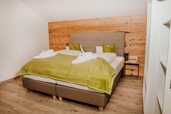 Schlafzimmer 2 Appartement Planai: für bis zu 3 Personen