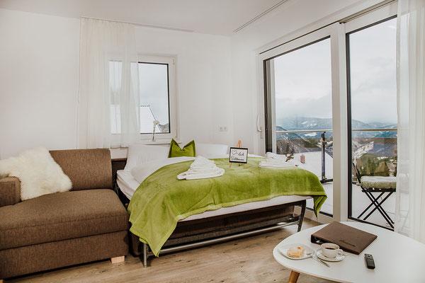 Wohnküche Appartement Kaibling - Schlafsofa