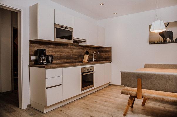 Wohnküche Appartement Kaibling - Küche