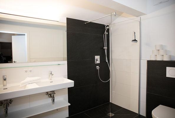 Badezimmer Appartement Planai