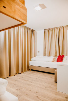 Bedroom 3 Single bed Hochwurzen Suite:  for 2-3 persons