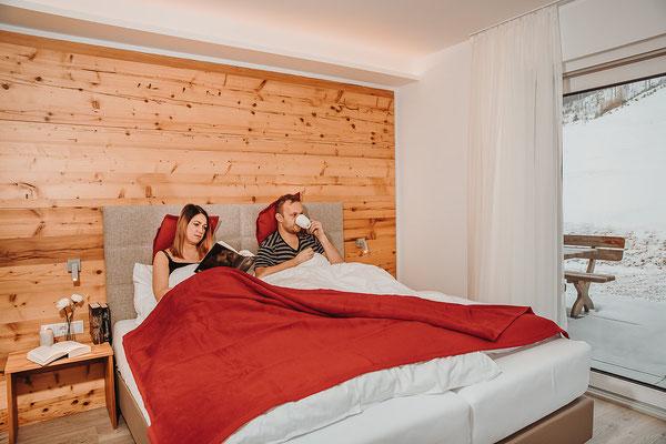 Schlafzimmer 1 Hochwurzen Suite: für 2 Personen