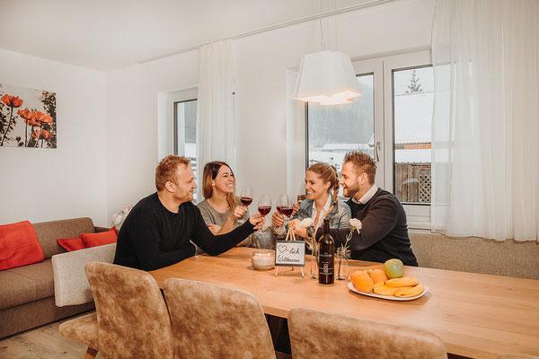 Wohnküche - Küche Sitzecke Hochwurzen Suite
