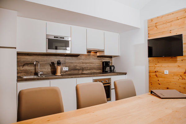 Küche Appartement Planai