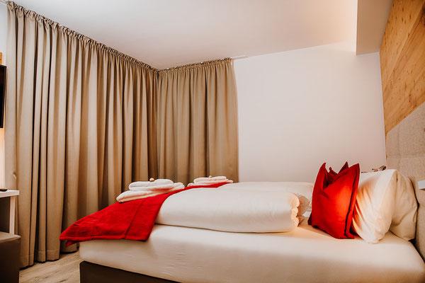 Schlafzimmer 2 Hochwurzen Suite: für 2 Personen