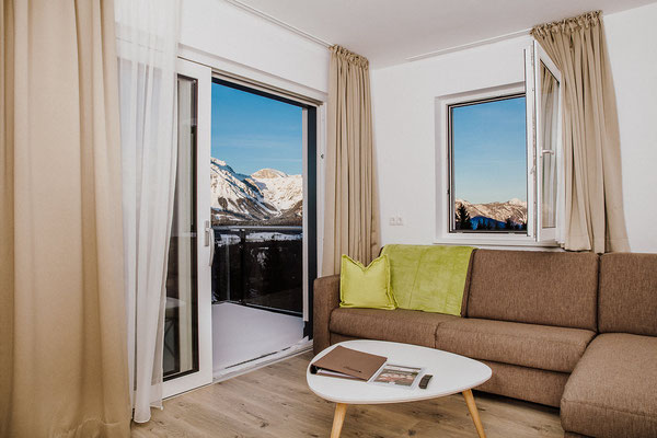 Kitchen Apartment Reiteralm with a direct view to the Dachstein