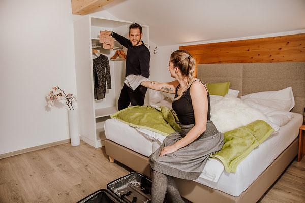Schlafzimmer 1 Appartement Planai: für bis zu 3 Personen