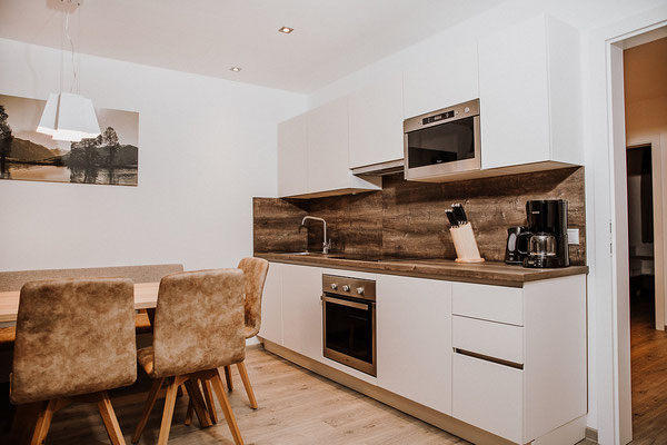 Kitchen Apartment Reiteralm