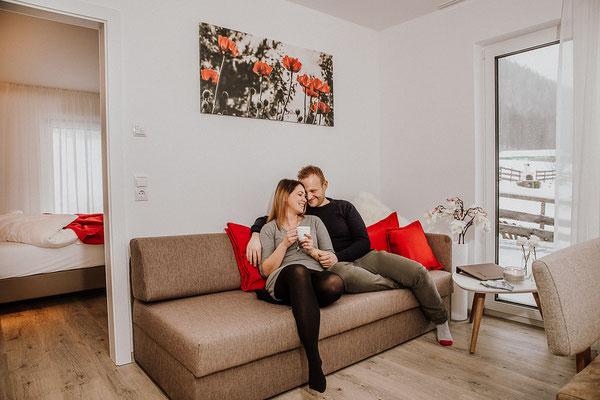 Wohnküche - Sofa Hochwurzen Suite