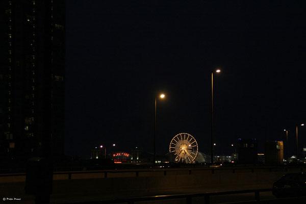 Blick zum Navy Pier Chicago, September 2010