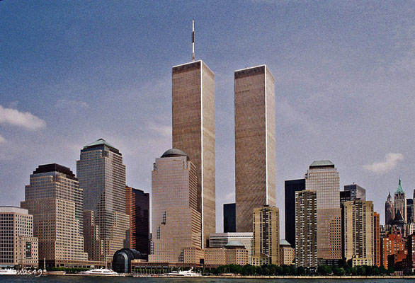 Worldtrade Center vor dem 11.September 2001 (Negativescan)