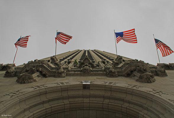 Gebäude der Chicago Tribune, September 2010