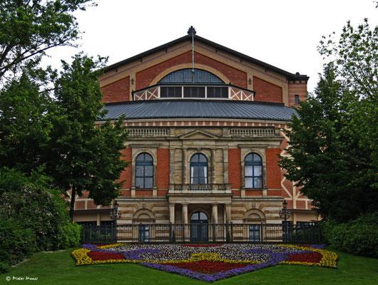 Richard-Wagner-Festspielhaus in Bayreuth, Juni 2010