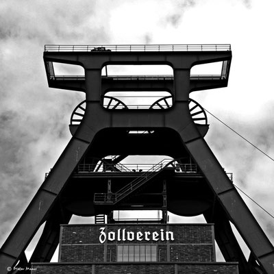 Zeche Zollverein in Essen, Juni 2010, Juni 2009