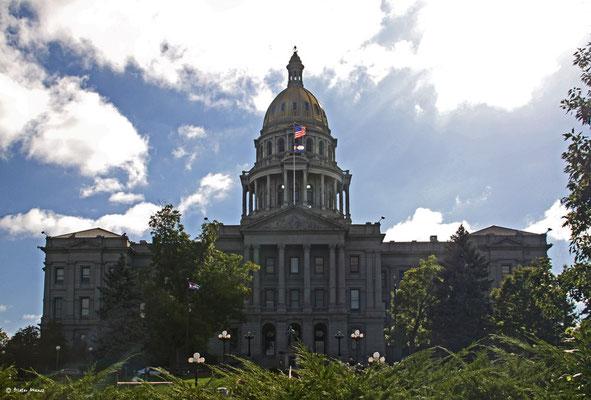 Colorado State Capitol, September 2010