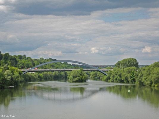 Mainbrücke bei Kitzingen, Juni 2010