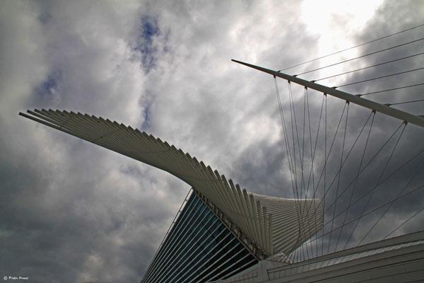 Milwaukee, Milwaukee Art Museum von Santiago Calatrava, September 2010