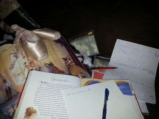 Text für den Märchenerzähler schreiben