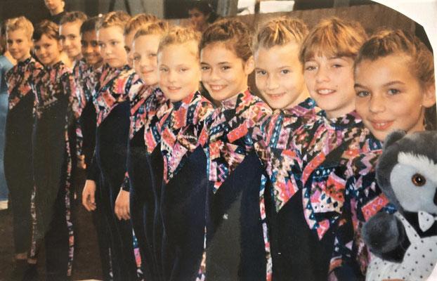 Vera 1994 ... rechts die Kleinste