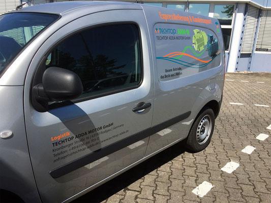 Expresslieferung & Kundensupport Fahrzeug - TECHTOP ADDA MOTOR GmbH in Rodgau