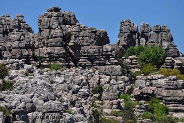 paraje natural torcal de antequera VIII - karst pur und wilde landschaften
